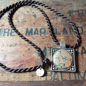 Magnabilities silver locket magnetic necklace